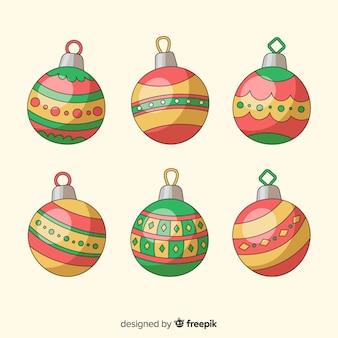 ビンテージクリスマスボールコレクション