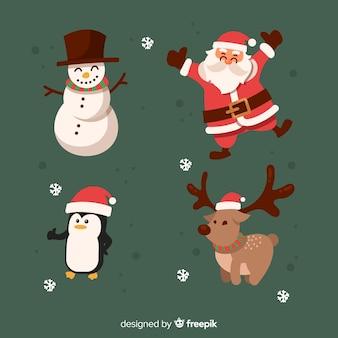 手描きクリスマス文字コレクション
