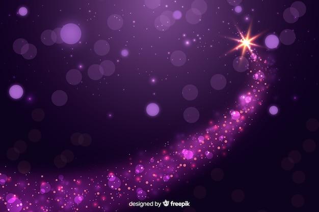 クリスマスの輝く背景