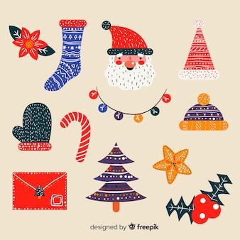 Ручной обращается рождественские украшения
