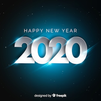 シルバーデザインの新年コンセプト