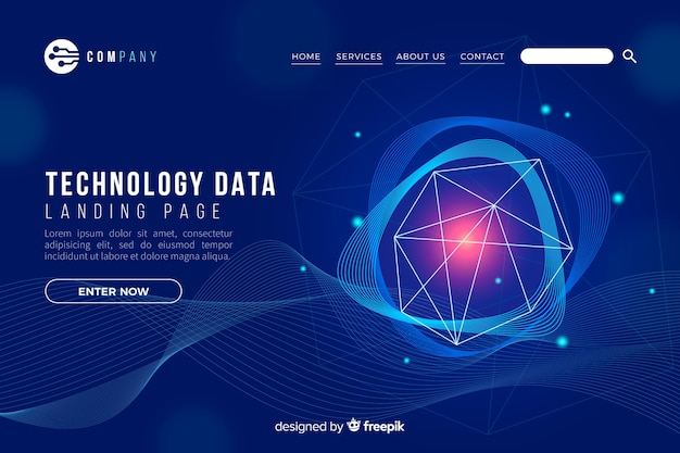 Технологическая концепция целевой страницы