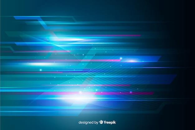 Абстрактный свет движения фона