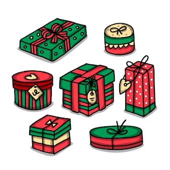 手描きクリスマスギフトコレクション