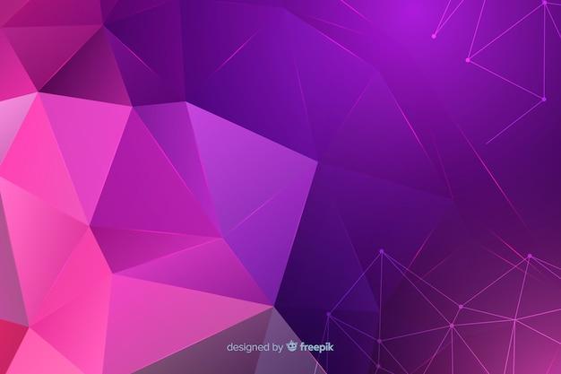 抽象的な幾何学図形の背景