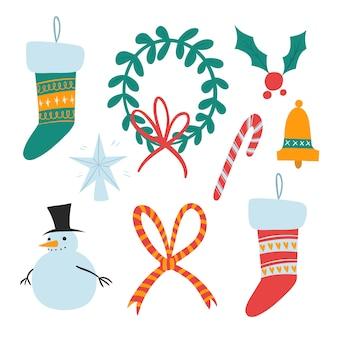 手描きクリスマス装飾セット