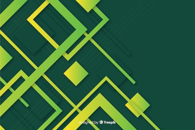 勾配幾何学図形の壁紙