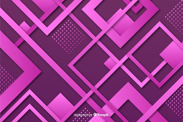 グラデーション背景幾何学図形