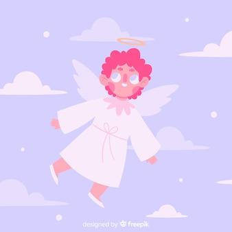 Ручной обращается рождественский ангел