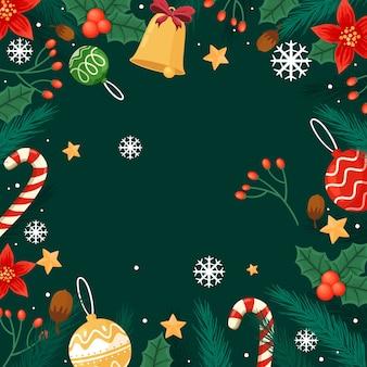 Ручной обращается рождественские украшения с колокольчиком