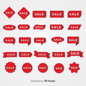 Коллекция красной этикетки продаж