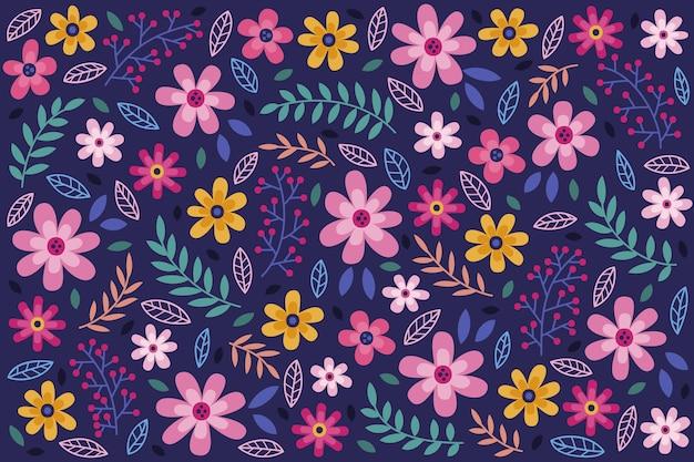 デイジーの花のシームレスな背景