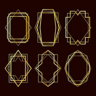 Золотая коллекция многоугольных кадров