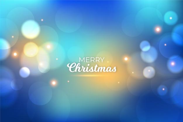 輝く効果とクリスマスの背景