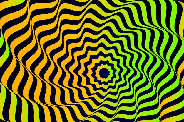 縞模様の錯覚効果の背景