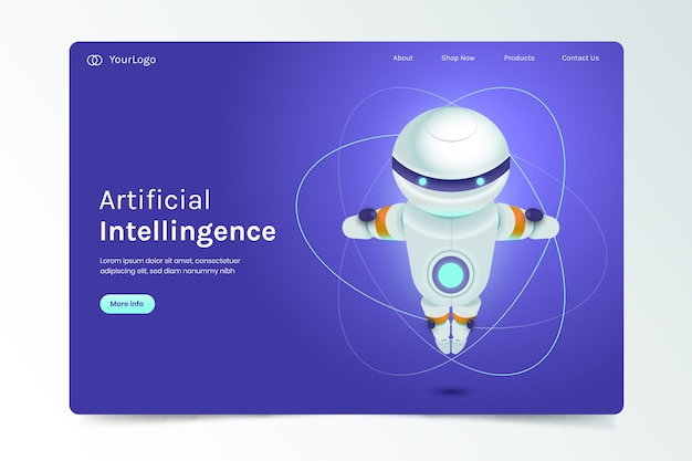 Целевая страница искусственного интеллекта