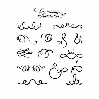 Каллиграфическая коллекция свадебных украшений