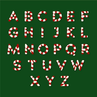Рождественский алфавит