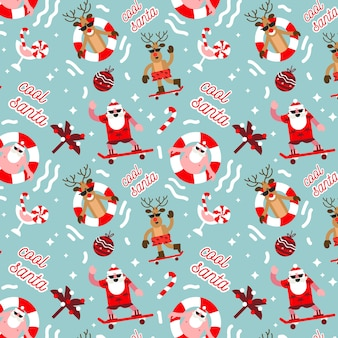 Забавный рождественский узор