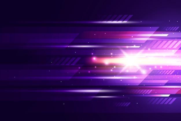光の動きの抽象的な背景