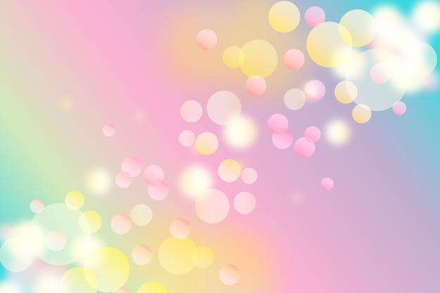 Фоновый градиент с эффектом боке