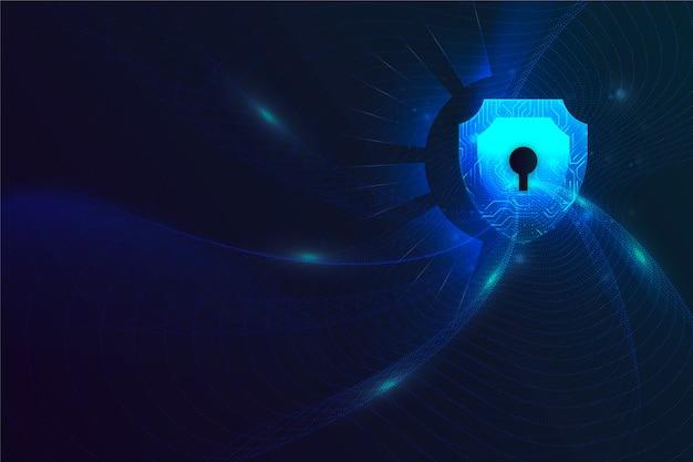 Абстрактный безопасный фон технологии