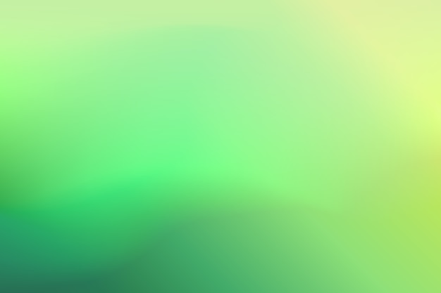 Градиентный фон с зелеными тонами
