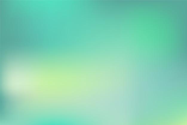 緑の色調のグラデーションの背景