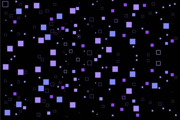 Абстрактный фон пиксель дождь