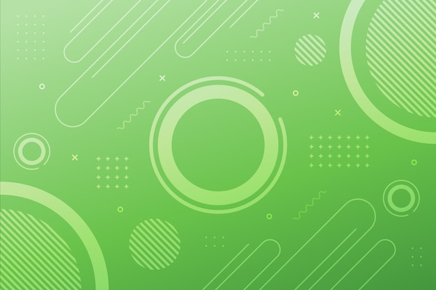 淡い緑の幾何学的な表面