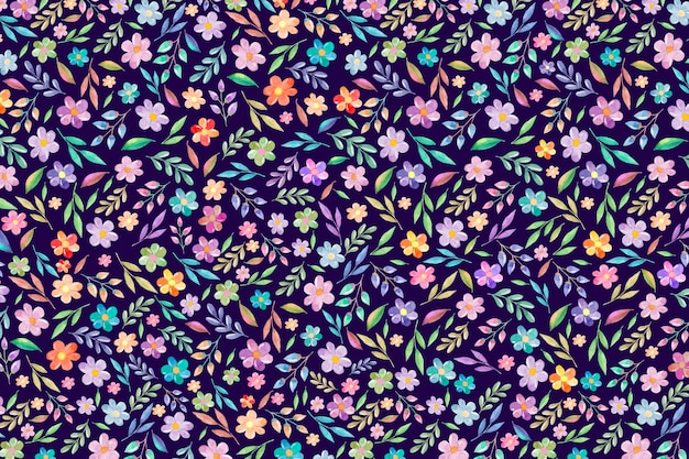Красочный цветочный фон