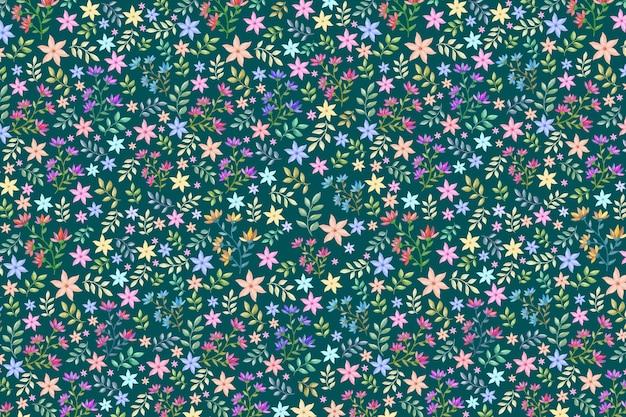 カラフルな花の背景
