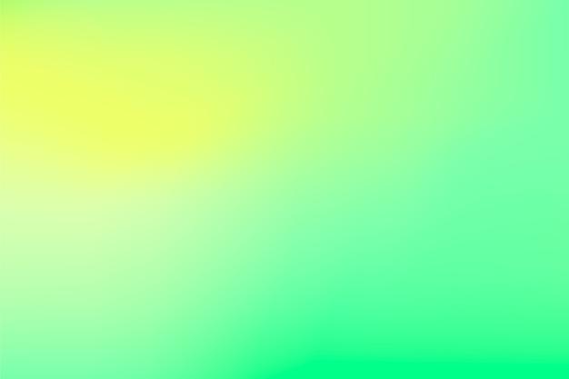 緑の色調で抽象的なグラデーション背景