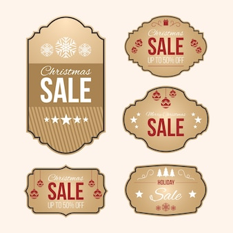 Коллекция старинных рождественских распродаж