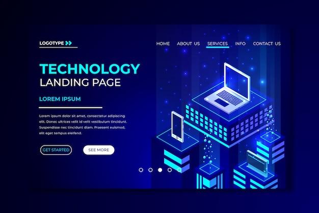 Технологическая концепция шаблона целевой страницы