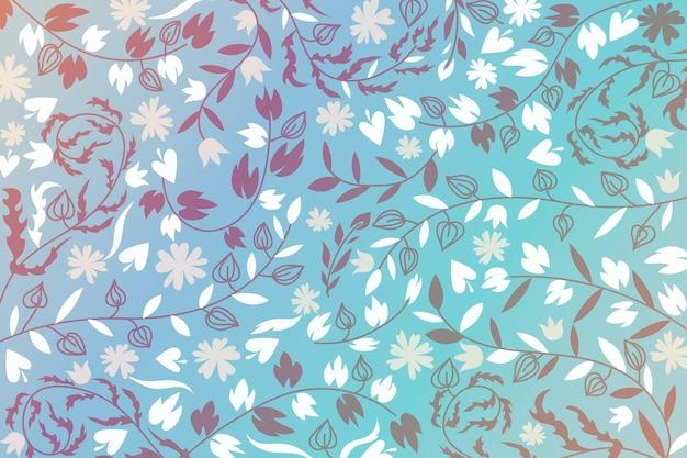 抽象的な装飾用の花の背景