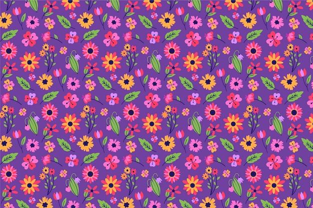 美しい頭が変な花のスクリーンセーバー