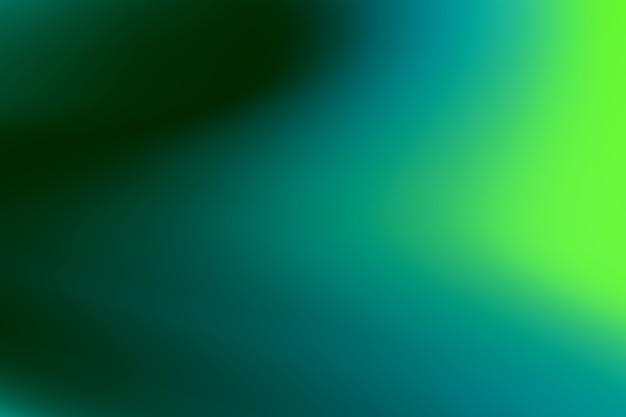 緑の色調のグラデーション壁紙