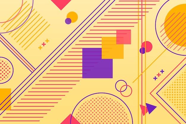Геометрические фигуры в плоском дизайне