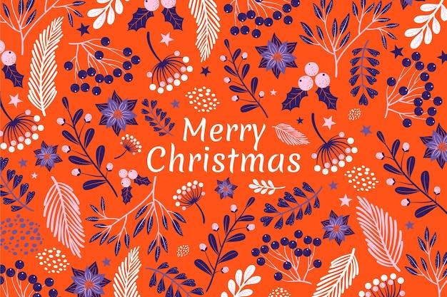 メリークリスマスの背景概念