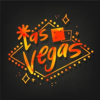 Лас-вегас-сити надписи