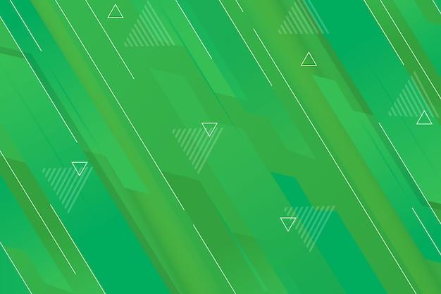 背景の緑の抽象的な幾何学的