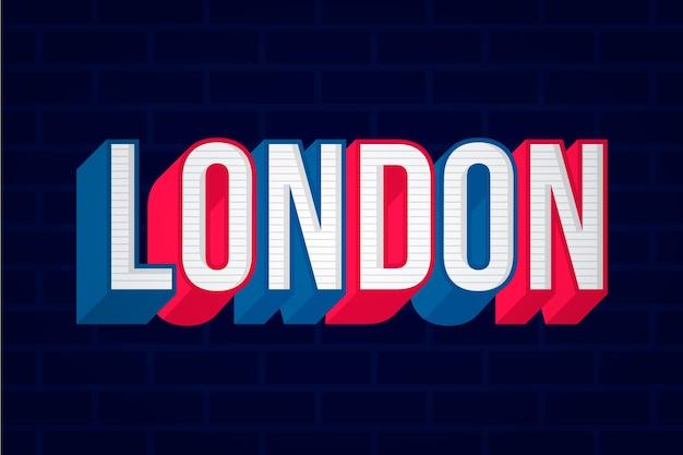 Надпись на лондонском сити