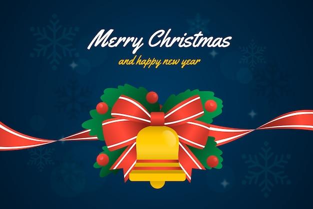 Рождественская лента фон