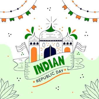 Ручной обращается индийский день республики