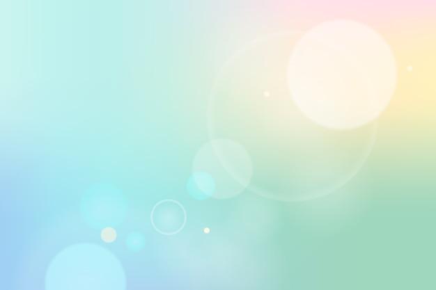 ピンぼけ効果と背景のグラデーション
