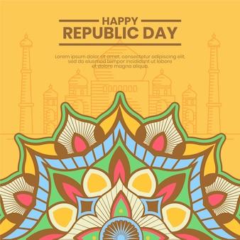 Традиционные индийские мотивы дня республики