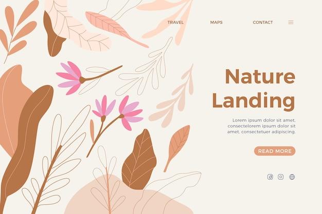 Ручной обращается природа целевая страница