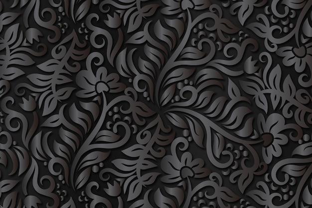 Абстрактные декоративные цветы фон