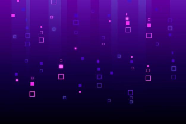 抽象的なピクセル雨背景